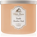 Bath & Body Works Vanilla Bourbon Peach 411 g vonná sviečka