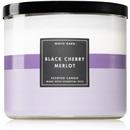 Bath & Body Works Black Cherry Merlot 411 g Vonné sviečky