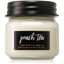 Milkhouse Candle Co. Farmhouse Peach Tea 198 g vonná sviečka