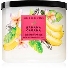 Bath & Body Works Banana Cabana 411 g vonná sviečka