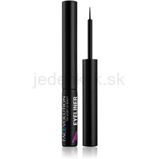 FacEvolution Hairplus tekuté očné linky s aktívnymi látkami pre rast mihalnic odtieň Black 1,5 ml