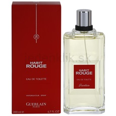 Guerlain Habit Rouge Habit Rouge 200 ml toaletná voda