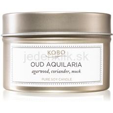 KOBO Aurelia Oud Aquilaria 113 g vonná sviečka v plechu vonná sviečka