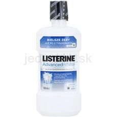 Listerine Advanced White ústna voda s bieliacim účinkom príchuť 500 ml