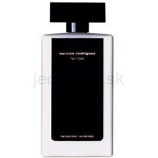 Narciso Rodriguez For Her 200 ml telové mlieko
