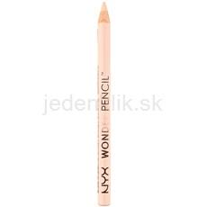 NYX Professional Makeup Wonder Pencil kontúrovacia korekčná ceruzka na oči, pery a nedokonalosti pleti odtieň Light 1,2 g